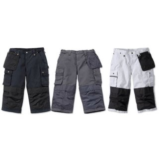 Carhartt 100455 Multi Pocket Ripstop Pirate Pant 7/8 Hose