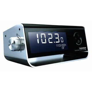 Thomson Radiowecker CT350, Dual-Alarm, Weekendfunktion, Kalender, Thermometer